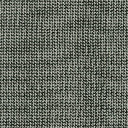 Shetland Flannel Grey Houndstooth