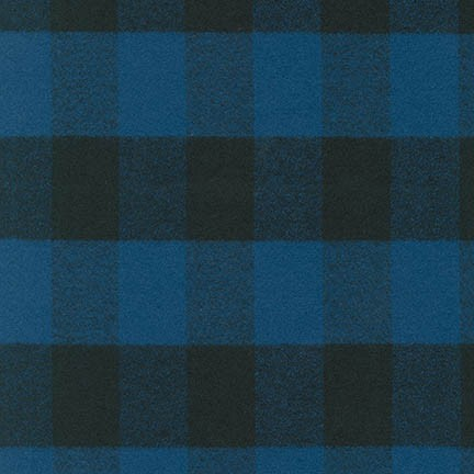 MAMMOTH FLANNEL - PLAID - BLUE - SRKF-14876-4