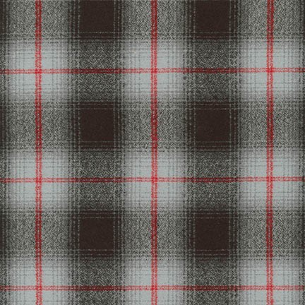 Mammoth Flannel Grey Plaid