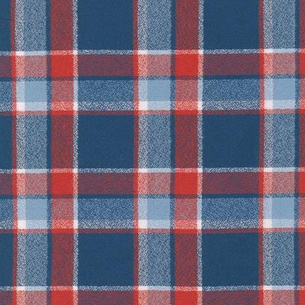 Americana plaid flannel SRKF-14883-202 Mammoth Flannel