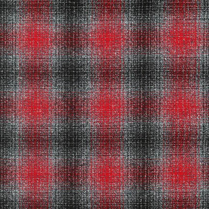 MAMMOTH FLANNEL RED & GRAY PLATINUM PLAID SRKF-14898-187 (PLATINUM)