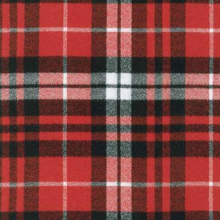 MAMMOTH FLANNEL - PLAID - SCARLET - SRKF-14900-93