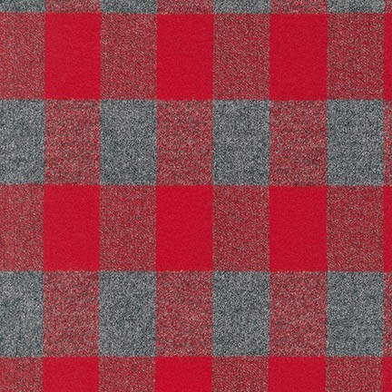 SRKF-15599-3 RED Mammoth Flannel