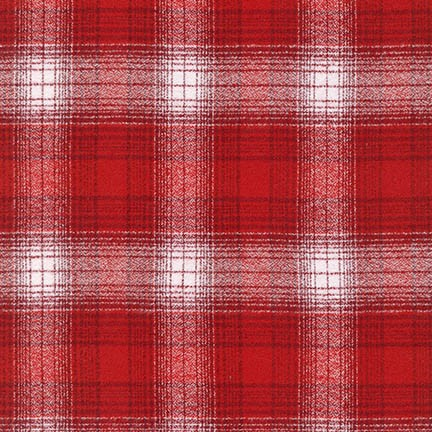 MAMMOTH FLANNEL - PLAID - RED - SRKF-15600-3