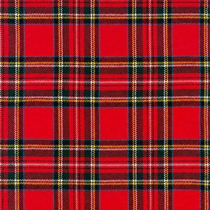 Highlander Flannel Crimson