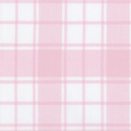 Brooklyn Plaid Flannel 17260 10 Pink