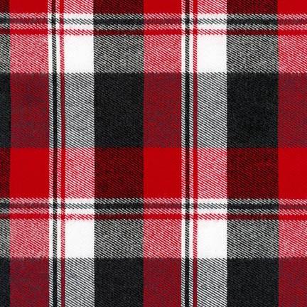 Durango Flannel - Red