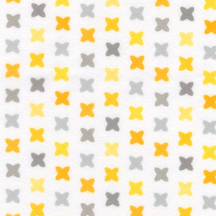 Cozy Cotton Flannel 17651 Yellow