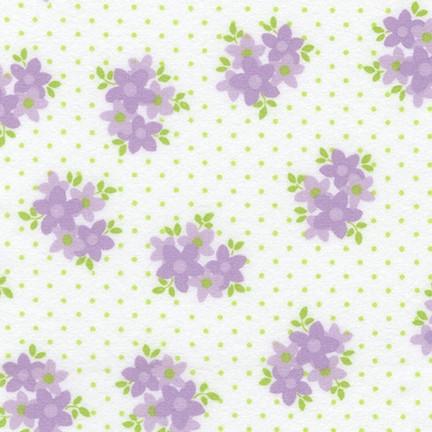 Cozy Cotton Flannel Robert Kaufman Lavender SRKF-17653-23