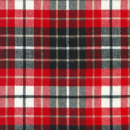 Mammoth Flannel Red SRKF-17852-3 RED