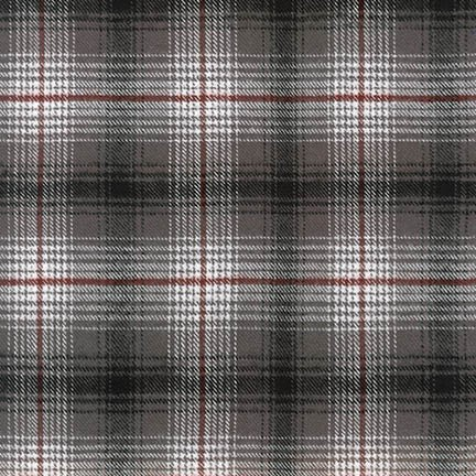 Momoth Flannel SRKF-17858-293 SMOKE