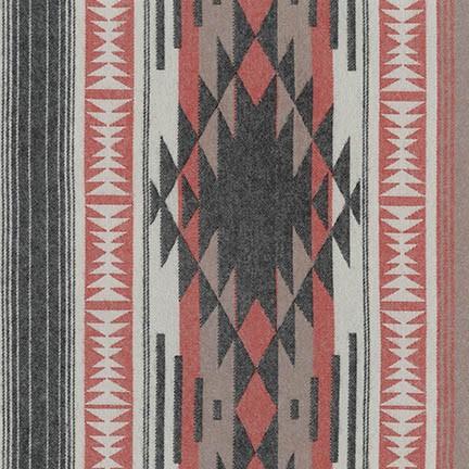 Robert Kaufman - Taos Flannel - Black