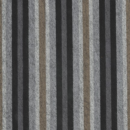 Tamarack Stripes/Black (Flannel)