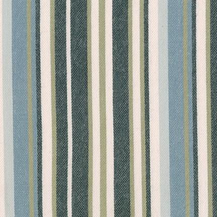 Tamarack Stripes/Seaglass (Flannel)