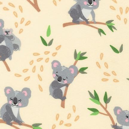 Cuddly Crew Flannel - Koala TAN
