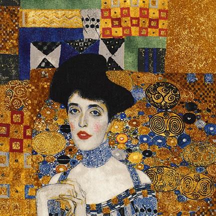 Gustav Klimt - Portrait of Adele Bloch Bauer  - 24 Panel