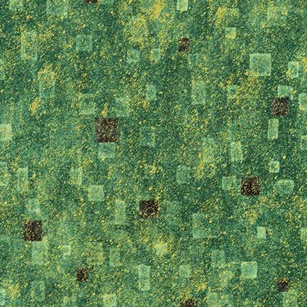 Klimt 2020 Murano Overlapping Squares - Green/Charcoal (Metallic)