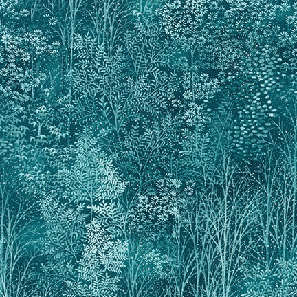 A Walk on the Path 19108-213 Teal