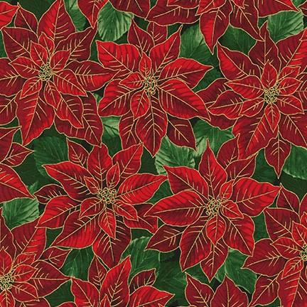 Robert Kaufman Holiday Flourish 13 SRKM-19254-223 HOLIDAY