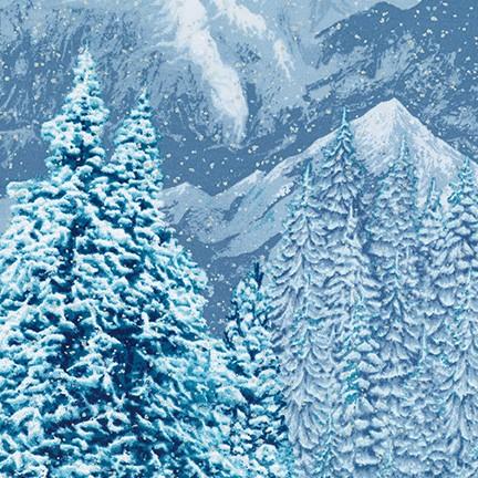 First Snow Metallic - Scenery - Winter