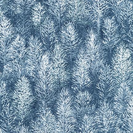 First Snow Metallic - Pines - Evening