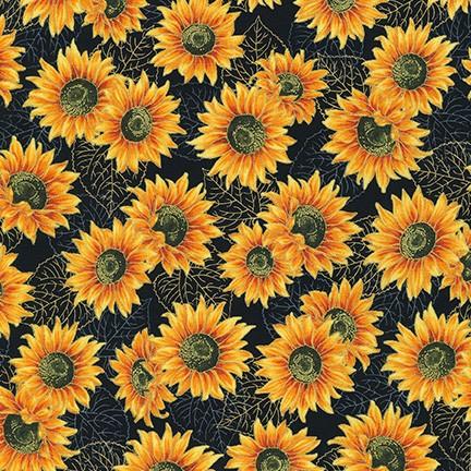 Autumn Beauties 19320-2 BLACK