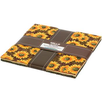 Autumn Beauties 10in Squares 42pcs