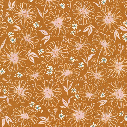 Daisy Made Tonal Flower Copper