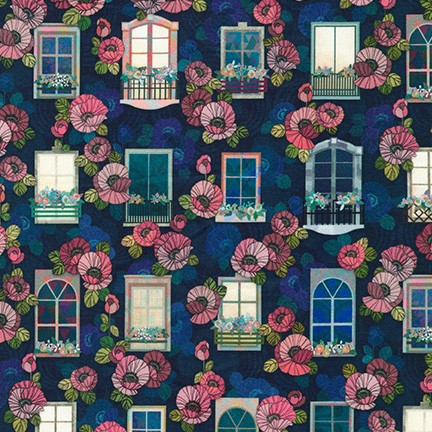 Happy Place Window Night WELD-19455-438