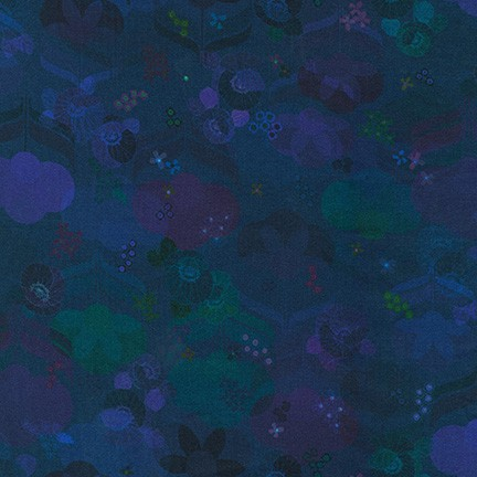 Robert Kaufman Happy Place Floral - Midnight