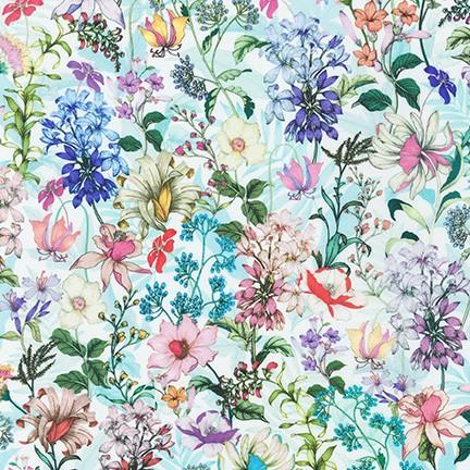Robert Kaufman Topia Wildflowers - Day