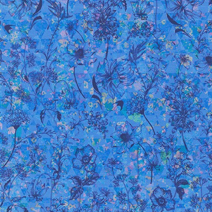 Topia Hyancinth by Robert Kaufman Fabrics