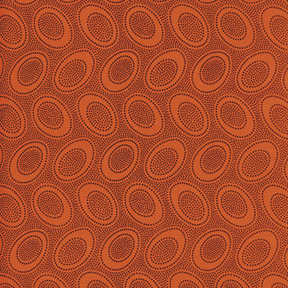 KF-Aboriginal Dot Orange