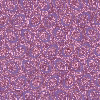 Aboriginal Dot - Purple
