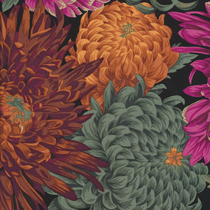 Philip Jacobs - Classics - Japanese Chrysanthemum - Red