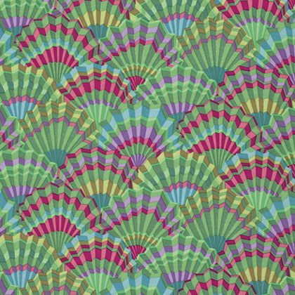 Kaffe Fassett - Limited Edition - Paper Fans - Green*