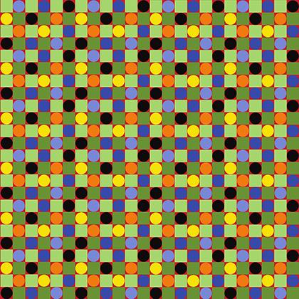 Spring Fever Checkerboard - Mexican