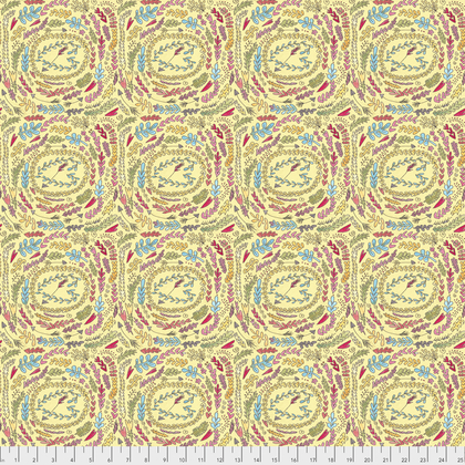 PWLH003 YELLO Fern The Dress by Laura Heine for FreeSpirit Fabrics. 100% cotton 43 wide