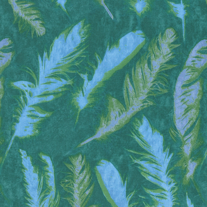 Feather- Green