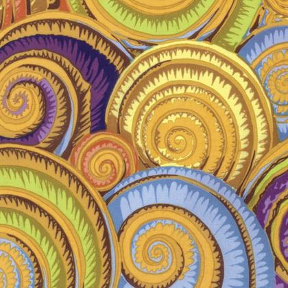 Gold spirals kaffe