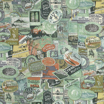 Tim Holtz - Eclectic Elements - Travel Label - Multi
