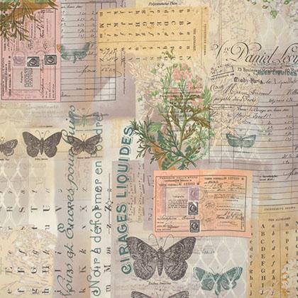 Tim Holtz - Wallflower - Botanical - Multi