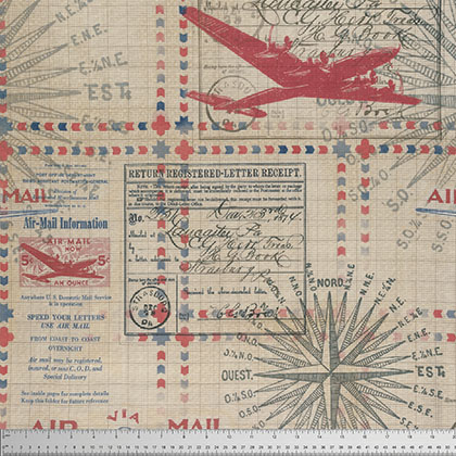Tim Holtz - Eclectic Elements In Transit Red