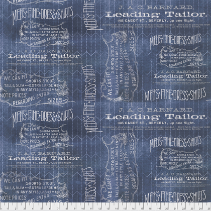 Tim Holtz - Eclectic Elements Tailored Blue