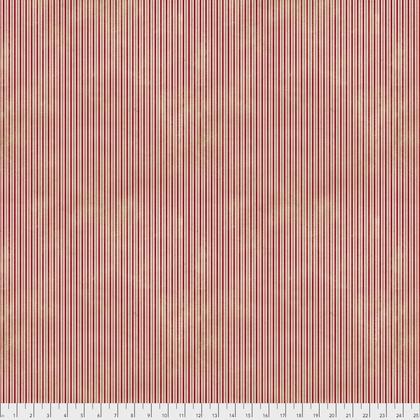 Merriment: Pinstripe - Red
