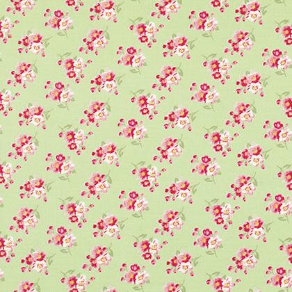 Rosey Green Cherry Blossom
