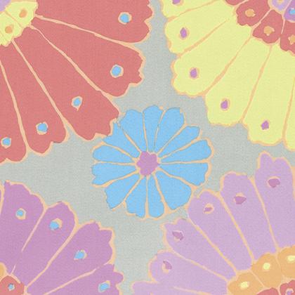 Kaffe Fassett - Backing Fabric -  Carpet - Pastel
