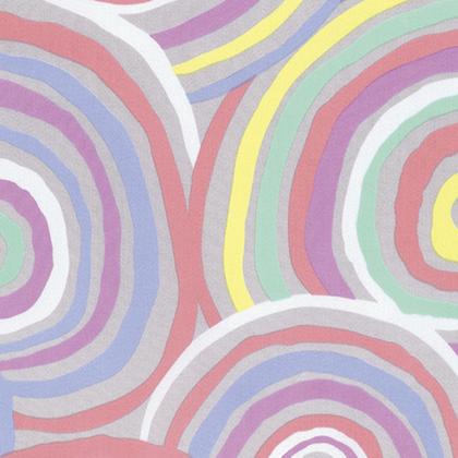Kaffe Fassett - Backing Fabric -  Circles - Pastel
