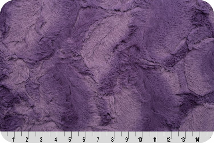2 Yard Luxe Cuddle Cut Hide- Violet