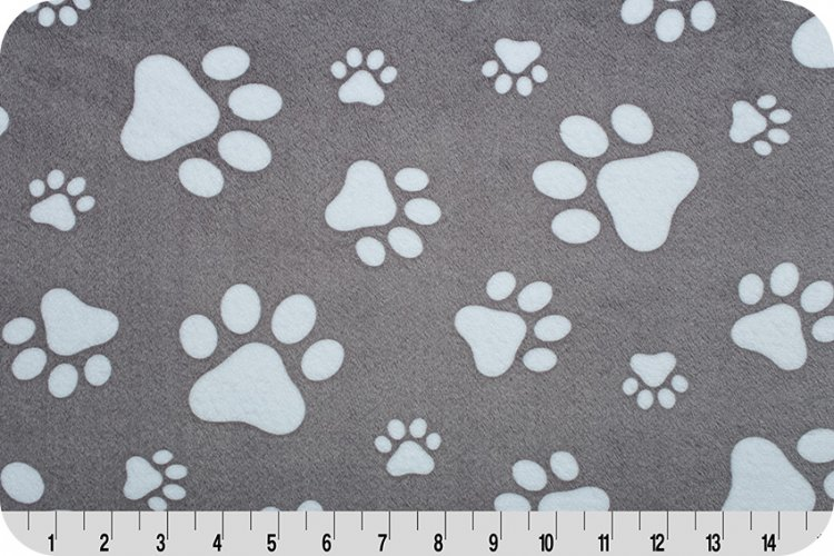 Paws Cuddle Graphite/Snow 60